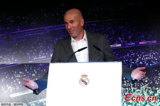 Zidane returns to Real Madrid as head coach
