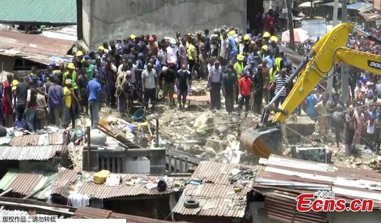 100 children feared trapped in collapse of Lagos building