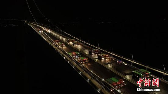 Guangdong's new bridge ready to open in May
