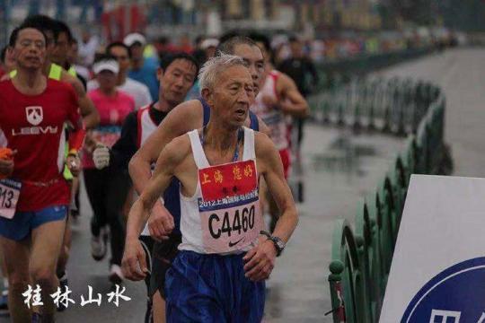 Senior citizen aged 70 completes 20 marathons