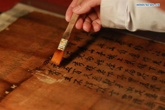 Museum curator dedicated to protecting ancient documents in Guizhou