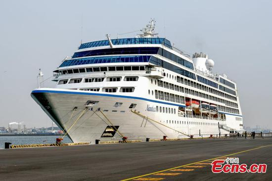 Dalian welcomes first luxury cruise ship this year