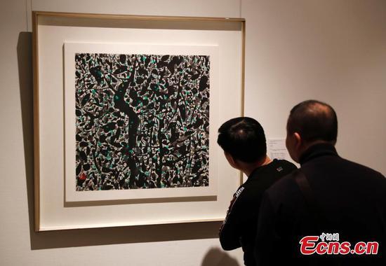 博物馆纪念著名画家吴冠中诞辰一百周年