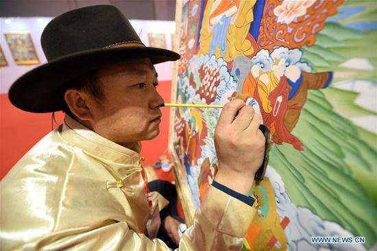Thangka art: the tale of a Tibetan family