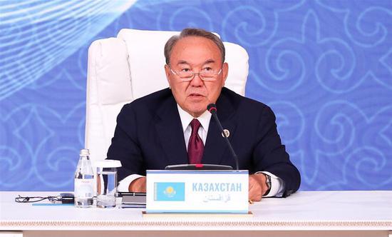 Kazakh President Nazarbayev resigns