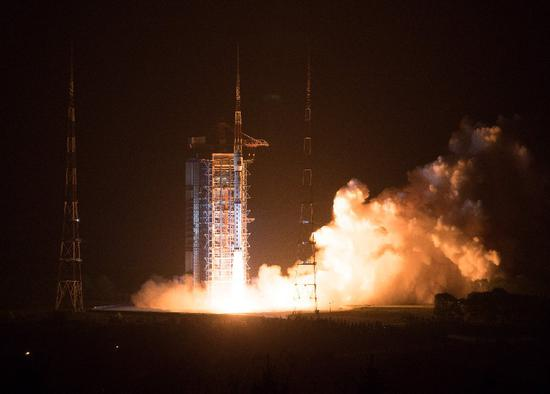 Two Chinese Earth observation satellites put into service