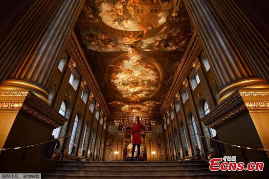 Painted Hall at Old Royal Naval College to reopen soon
