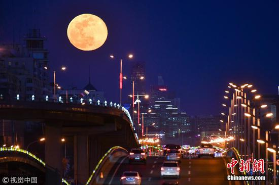 Amazing images of the last supermoon of 2019