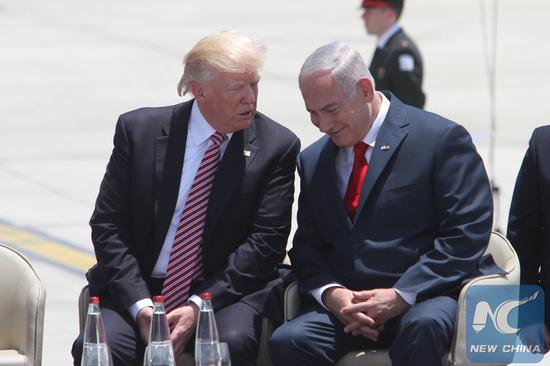 Trump says time to recognize Israel's sovereignty over Golan Heights, evoking fear of escalating tensions