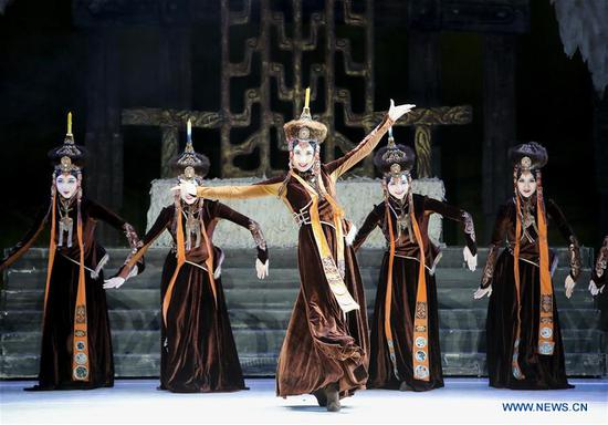 Dance drama 'Princess Zhaojun' performed in New York