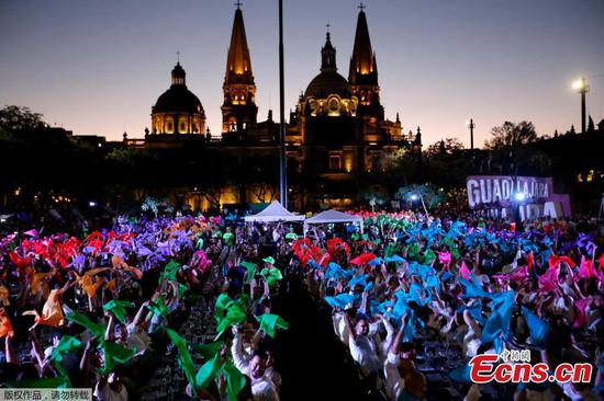 Guinness record of the world's largest tequila tasting achieved in Mexico
