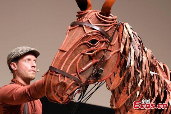 国际舞台表演《战马》访问香港