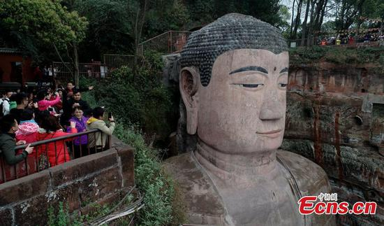 Leshan Giant Buddha to reopen on April 1