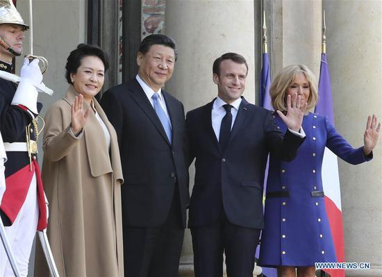 习近平结束对法国的国事访问