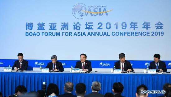 Press conference held during BFA annual conference in Hainan