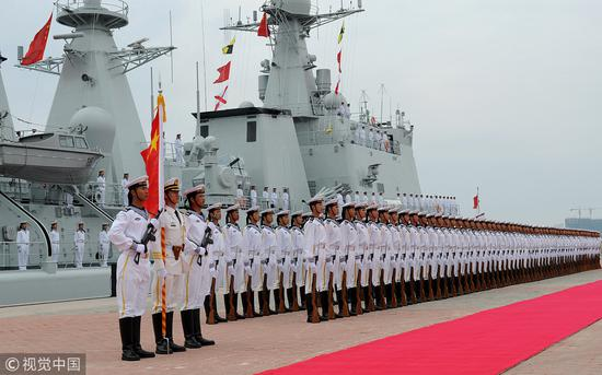 Event planned to fete PLA Navy's 70th anniversary