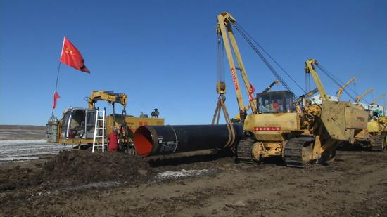 Underwater tunnels completed for China-Russia gas pipeline