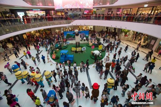 Global firms bet on China's consumption upgrade