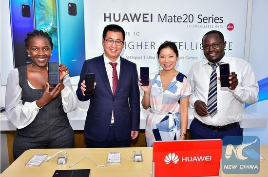 China's Huawei to expand footprint in Kenya's IT solutions market