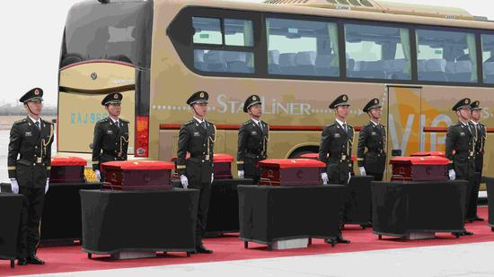 More remains of Chinese Korean War soldiers to repatriate