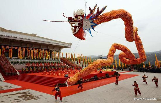 Packed events schedule in Shaanxi to honor Yellow Emperor