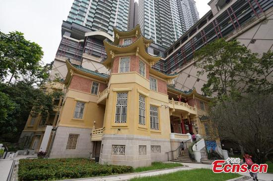Hong Kong's Haw Par Mansion transformed for music exchange