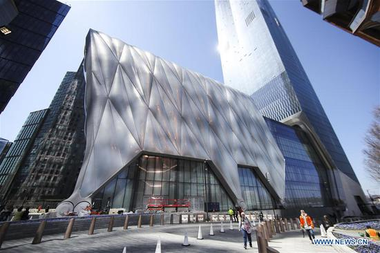 New York City's new arts center The Shed to open to public
