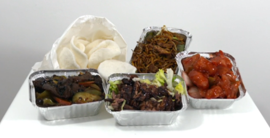 Chinese food ranked Britain's favorite takeaway