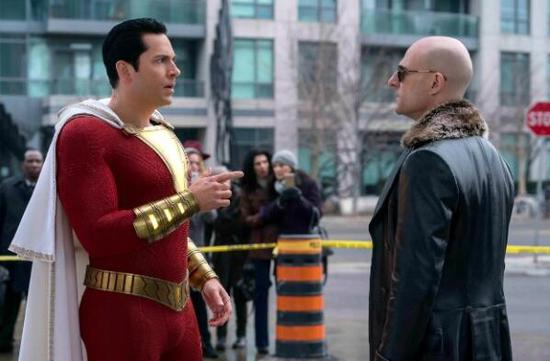 'Shazam!' tops North American box office in opening weekend