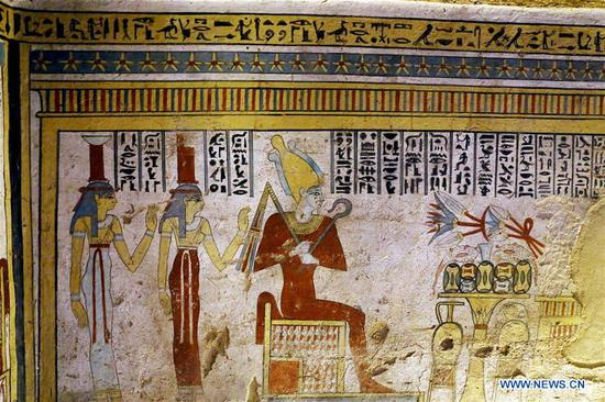 Ptolemaic-era tomb discovered in Upper Egypt
