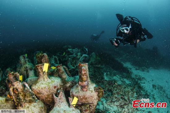 Shipwreck to become underwater museums in Greece