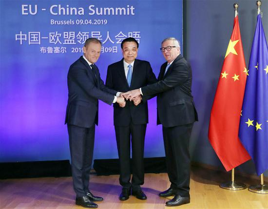 China, EU vow to facilitate trade