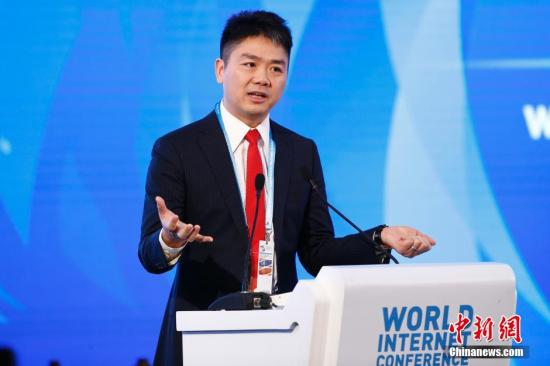 JD.com CEO Liu Qiangdong. (File photo/China News Service)