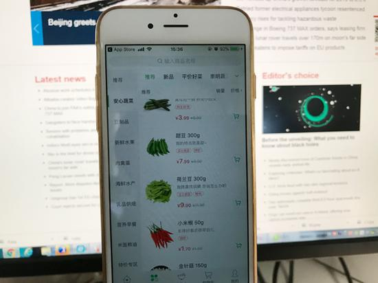 Chinese vegetable consumers hungry for apps
