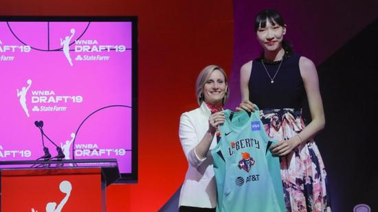 Chinese center Han Xu selected by New York Liberty in WNBA draft 2019