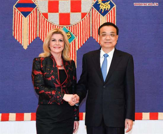 Li's Croatia visit to consolidate, promote bilateral ties