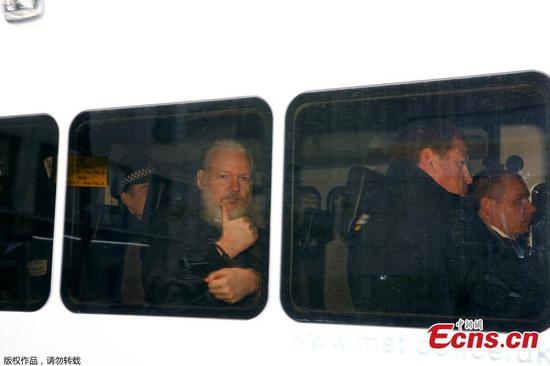 Julian Assange charged by U.S. for computer-related offences