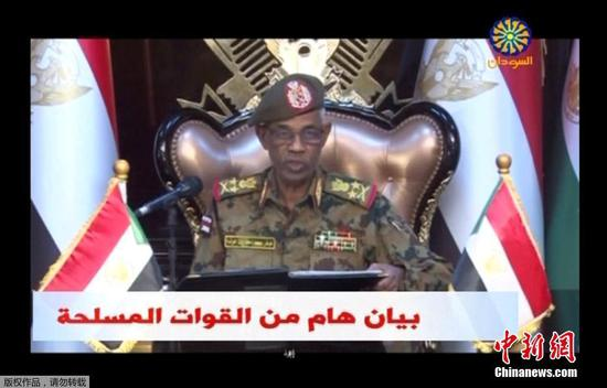 Sudan's Defense Minister Awad Mohamed Ahmed Ibn Auf. (Photo/Agencies)