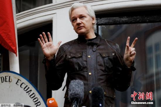 WikiLeaks founder Julian Assange. (File photo/China News Service)