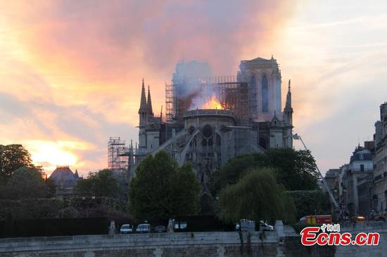 Tears, shocks and prayers: The world mourns burnt Notre-Dame Cathedral