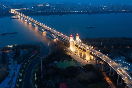 Yangtze bridge stands the test of time