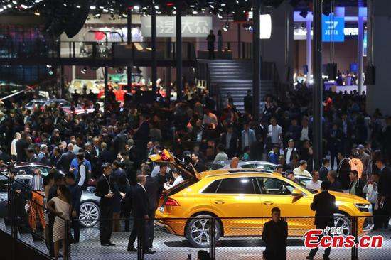 1,000 exhibitors at Shanghai auto show
