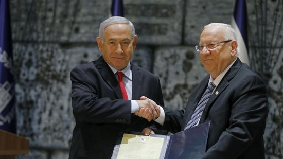 Israeli president formally appoints Netanyahu to form next gov't