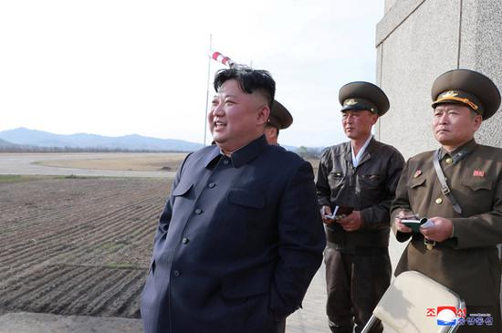 Kim Jong Un supervises test of new tactical guided weapon - KCNA