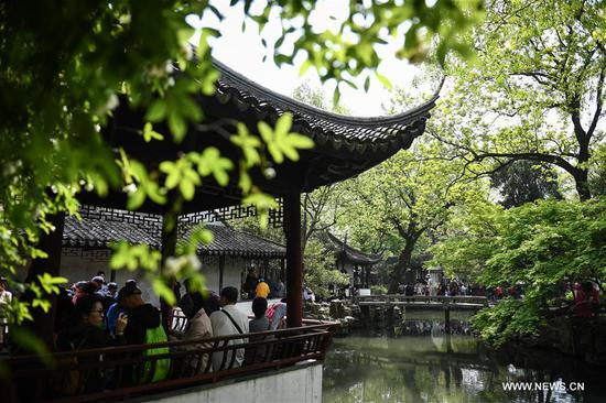 Famous classical gardens of Suzhou, E China