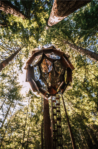 Pinecone Treehouse on sale for $150,000