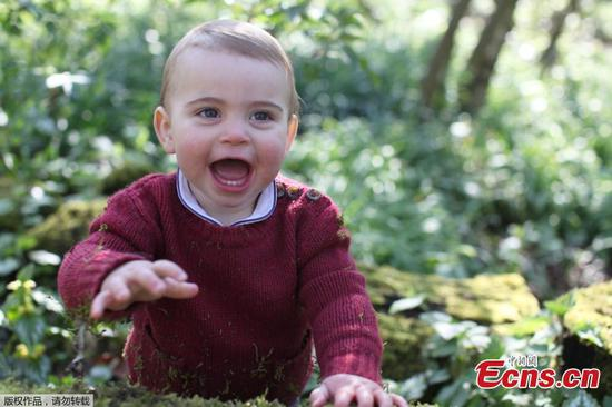 New photos released as Prince Louis turns 1