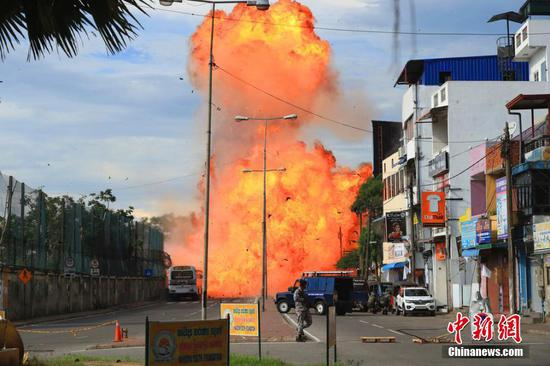 Another blast rocks Sri Lanka as terror attack continues