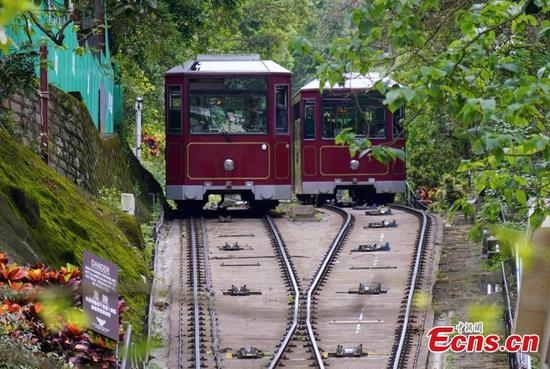Hong Kong's Peak Tram service to be suspended for upgrades