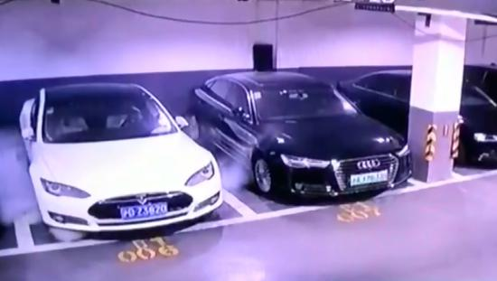 Shanghai fire department says Tesla blaze still under investigation